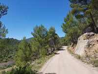 Onderweg van Rafales naar Fuentespalda