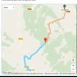 Route fietsdag 6, deel 2
