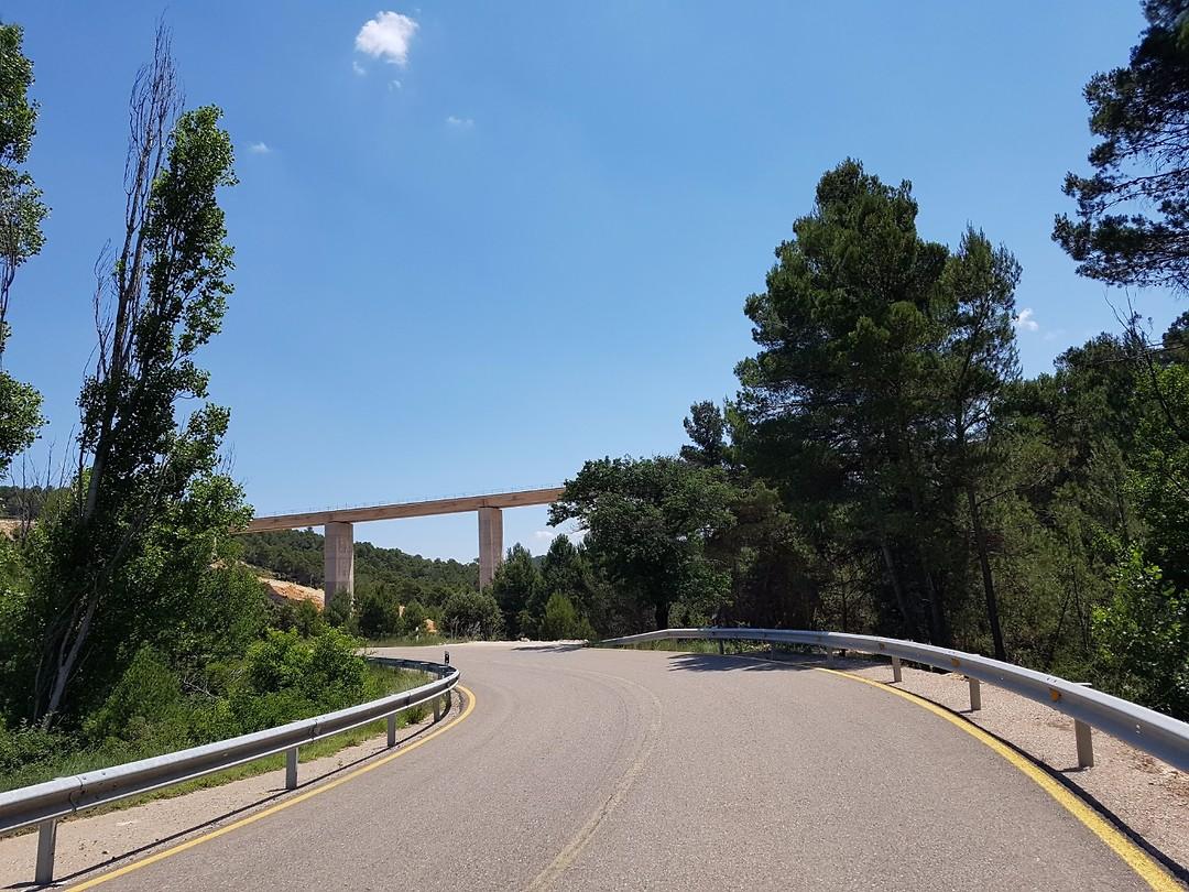 Bouw van nieuw viaduct