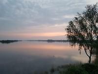 Uitzicht op Veluwemeer