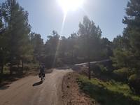 Onderweg van Rafales naar La Portellada