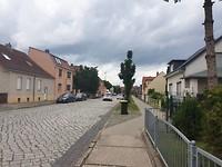 Beeld van een gewone straat in dorpje