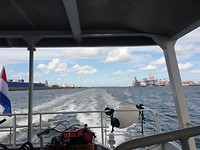 Fast Ferry van Maasvlakte naar Hoek van Holland