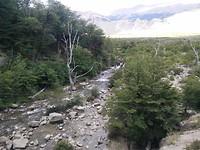 Vanaf de  waterval naar de vallei