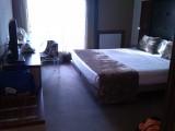 en hier mag ik vannacht slapen: Getxo, Hotel Tamarises met zicht op zee!!!