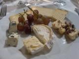 en mijn nagerecht: kaasplankje, heerlijk!!!!