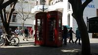 en Britse telefooncellen natuurlijk