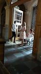 huwelijksmis: bruid in de rolstoel