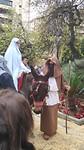 Maria viel bijna van de ezel met het opstappen