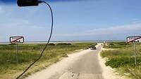 Fanø, op weg naar het strand vanuit Sønderho