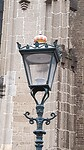 lantaarnpaal bij de Bovenkerk