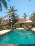 Ons hotel op Gili Trawangan 'Coconut Garden'