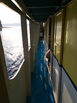 Het gangetje op de boot