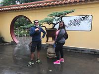 Bonsai in een openbaar park, bij ons onvoorstelbaar!