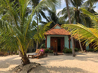 Our guesthouse on the beach