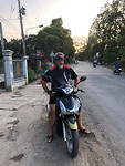 Scooter voor personenvervoer lijkt uitzonderlijk :-)