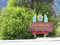 Leavenworth. Bavarian village in USA