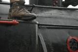 Shoefie met de trein