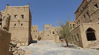 Het verlaten dorpje Al Hamra