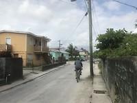 Straatbeeld in het zuiden van de stad Belize