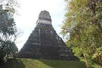 Achterkant van tempel I