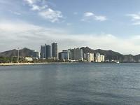 De skyline van Santa Marta