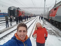 Tussenstop op de reis van Moskou naar Irkutsk