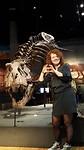 Naturalis Medewerker Susanne ging ook even bij Trix op bezoek.