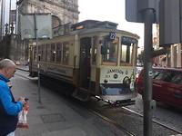 Ahhh het trammetje (vol met touristen)