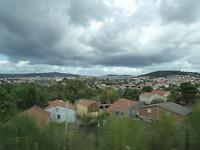 Donkere wolken over Santiago
