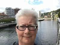 Selfie met oa guggenheim
