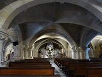 Onderkerk met romeinse resten