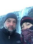 Bevroren selfie