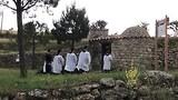 Priesters in opleiding.