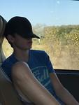 Puber op safari
