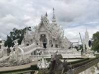 Witte tempel in Chiang Rai
