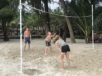 Beachvolleybal op Koh Chang