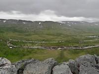 Uitzicht vanaf Sysendal dam