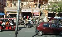 in de stad jaipur