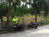 Ons vervoermiddel op het eiland