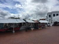 Marktje in de oude stad