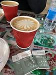 Geen Starbucks maar wel lekkere koffie..