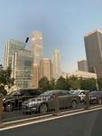 Sky scrapers in Beijing