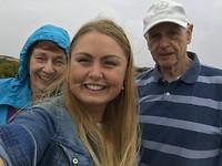 Selfie met Loes en Sjaak