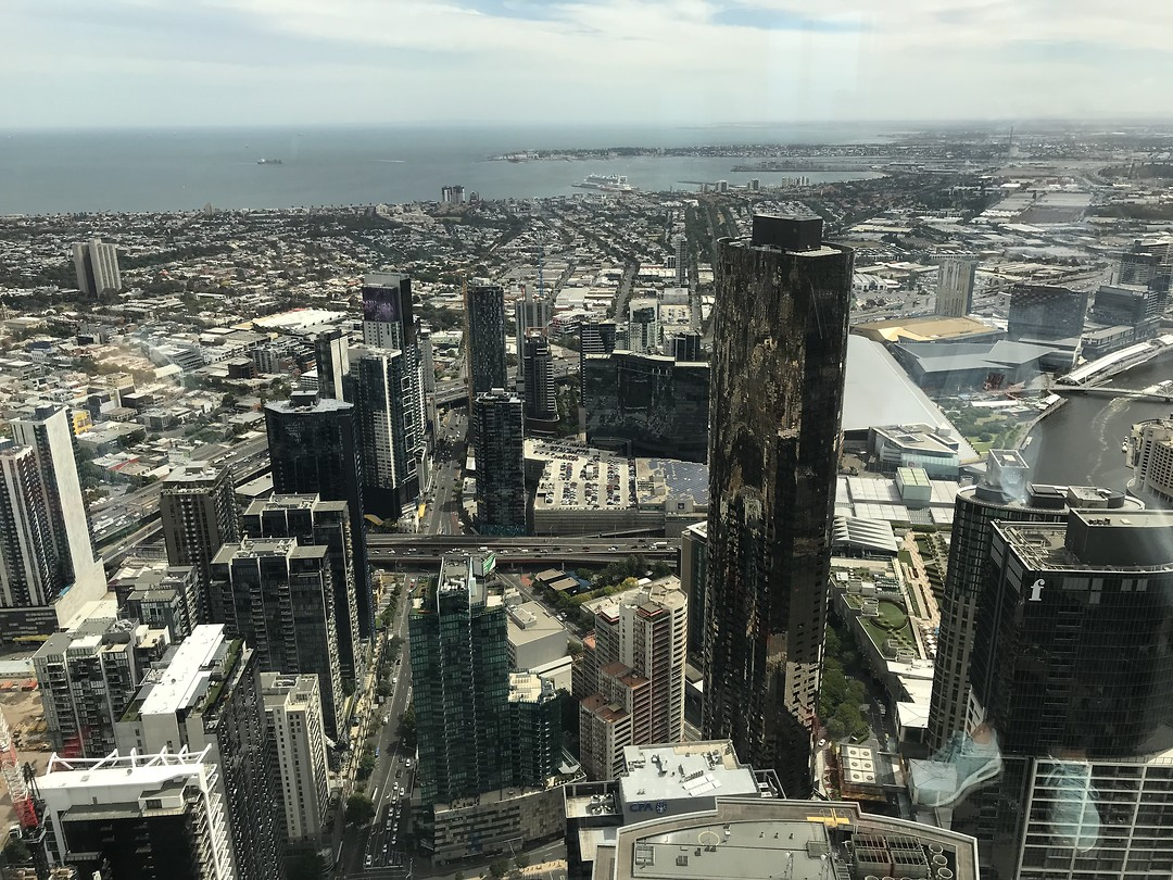 Melbourne city —> Eruka tower