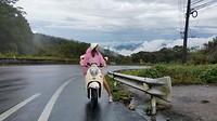 Op de scooter naar hoogste punt van Thailand