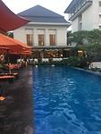 Zwembad hotel Malang