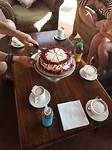Red velvet taart voor iemands verjaardag...