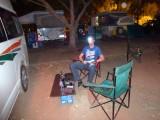 's Avonds op de camping (klopt, ik lijk wel een debiel)