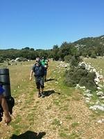 Wandelaars op pad
